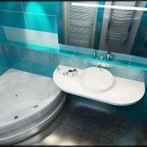 Ремонт ванной комнаты под ключ цена, в Москве