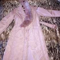 Продам утепленный плащ для подростка, в Саранске