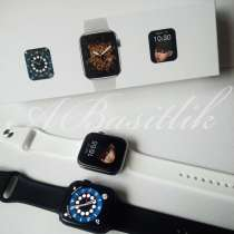 Часы apple watch 6 44 mm lux copy, в Хабаровске