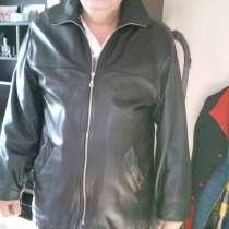 Куртка мужская кожанная, в г.Усть-Каменогорск