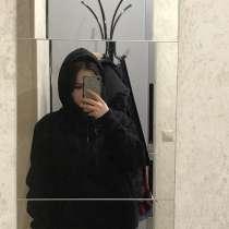 Худи/толстовка чёрное с флисом новое, в Йошкар-Оле