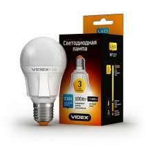 Светодиодная лампа (LED) Videx PremiumA60 11W E27 4100K 220V, в г.Чугуев