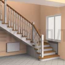 Лестница на второй этаж, в г.Витебск
