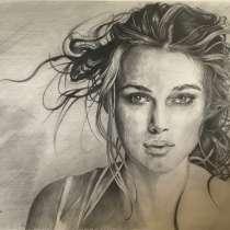 Портрет, рисунок - на заказ по фотографии, карандашом, в Ачинске