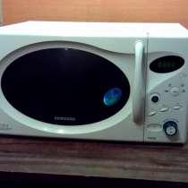 Микроволновка Samsung 850Вт 23л. биокерамическая. Гриль, в Тюмени