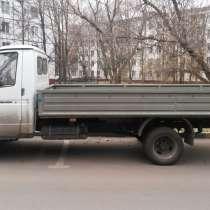 Перевозка открытой бортовой газелью, в Москве