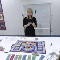 Преподаватель фин грамоты в образовательный проект. Жмите, в г.Астана
