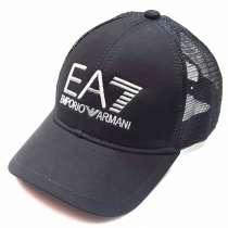 Кепка бейсболка Emporio Armani 7 (black) сетка, в Москве