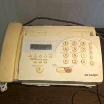 Телефон-факс sharp FO-55, в Перми