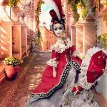 Барби в платье эпохи Рококо ручной работы, в г.Анкара