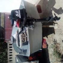Продам лодку алюминиевую ЯЗЬ с мотором, в Феодосии