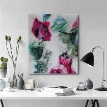 Абстракция картина. Акрил, холст. 50×60 см, в г.Костанай