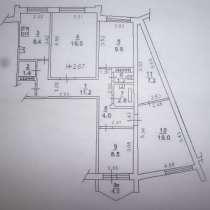 СЖМ 4к. квартира 94м2, в Ростове-на-Дону