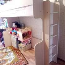 Кровать-чердак с лестницей, в Челябинске