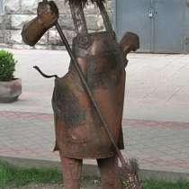 Дворник из металла, в Краснодаре