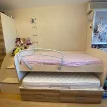 Кровать двухуровневая выдвижная, в Москве