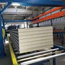 Линия по производству сэндвич-панелей JB200, в г.Чэнду