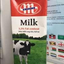 Цельное молоко УВЧ из Польшы, в г.Белосток