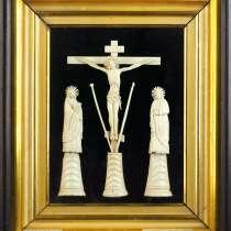 Голгофа: Распятие Господа Иисуса Христа с предстоящими». 18в, в Санкт-Петербурге