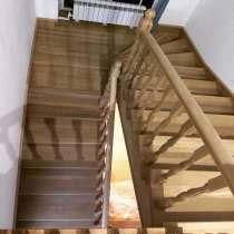 Деревянные лестницы из Бука, Ясеня, Дуба, в г.Костанай