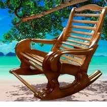Кресло-качалка из алтайской сосны, в Бийске