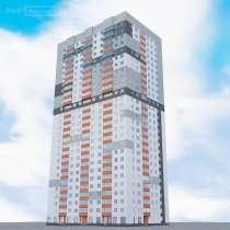 Квартира-студия 28.9 м²,2/28 эт. без посредников, в Уфе