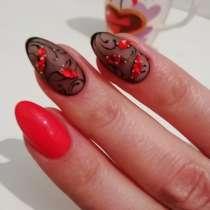 Наращивание и шеллак ногтей. Коррекция и покраска бровей, в Ставрополе