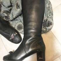 Продам сапоги женские зимние Италия, в Тюмени