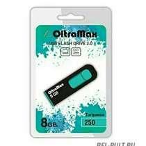 Флеш-карта USB 8GB OltraMax бирюз 250, в Белгороде