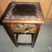 Антикварный столик Китай до1940 Малая столешница, в Москве