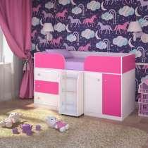 Кровать-чердак Малыш 4, в Екатеринбурге