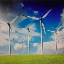 Строительства ветроэлектростанции в Узбекистане, в г.Ташкент