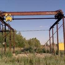 Кран-балки, концевые балки к ним, тельфера г\п-0,25-5тн, в Нижнем Новгороде