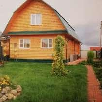 Продаю 2-х эт. бревенчатый дом рядом с озером, в Дубне