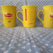 Кружки Lipton, в Калининграде