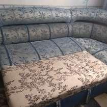 Диван б/у с креслом, в Березовский