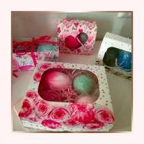 Подарочные наборы (мыло и бомбочка для ванны) Цена 250, в Екатеринбурге