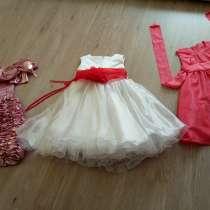 3 платья на девочку 3-5 лет, в Новокузнецке