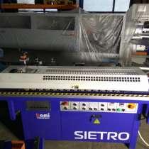 Кромкооблицовочный станок sietro 3.2 бу, в Электростале
