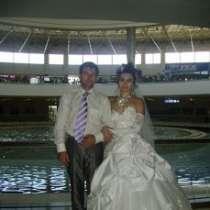 Свадебное платье размер 44-46 в хорошем состоянии недорого, в Ростове