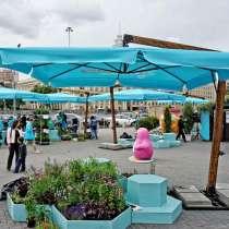 Зонт с боковой стойкой 3х3 м усиленный, в Краснодаре