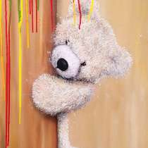 Мишка Тедди картина маслом, в Москве