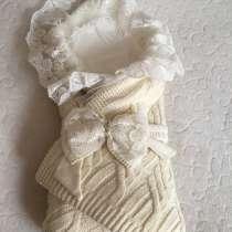 Очень красивый конверт одеяло на выписку, тёплый зима, в Ульяновске