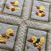 Детское лоскутное одеяло «Утиная история», в Омске