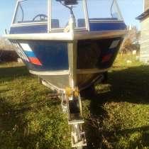 Новый катер с прицепом мотор ямаха 50, в Можайске