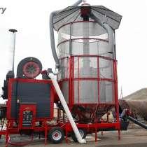 Зерносушилка на угле/пеллетах - AgroDry TKM-33SF, в Калининграде