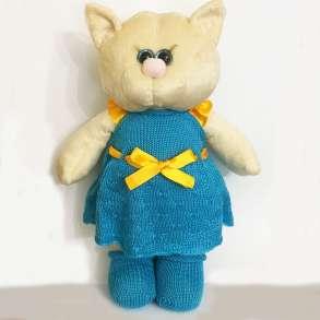 Мягкая игрушка кошка в платье, в Санкт-Петербурге