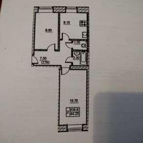 2-к квартира, 45 м², 1/10 эт, в Санкт-Петербурге