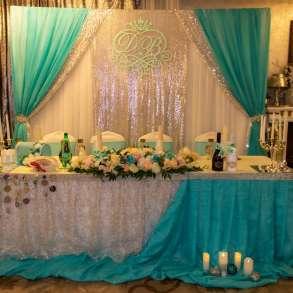 Оформление банкетного зала на свадьбу, в Подольске