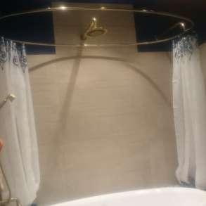 Карнизы, штанги, перекладины для шторки в ванную, в Краснодаре